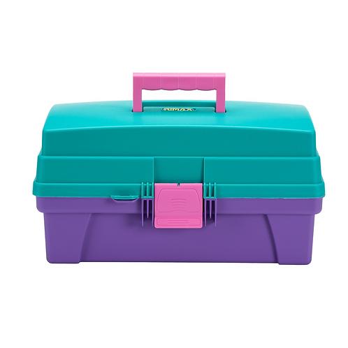 "Caja Vanity 16"" Fucsia/Morado 8372"