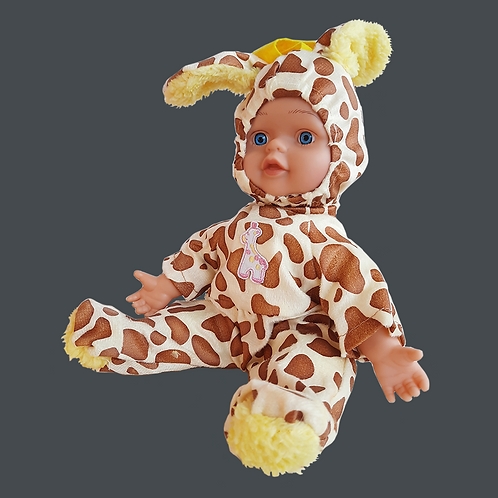 Jgte muñeca musical 12 animal 118