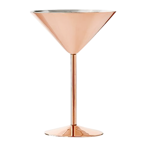 Copa martini de cobre