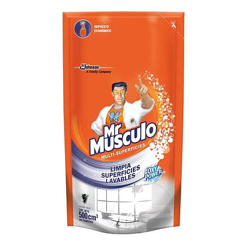 Mister M. limp/vidri. Lav. X 500 ml