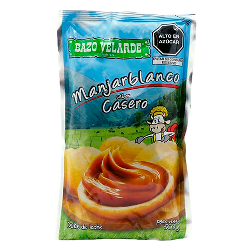 manjar sabor casero x 500gr