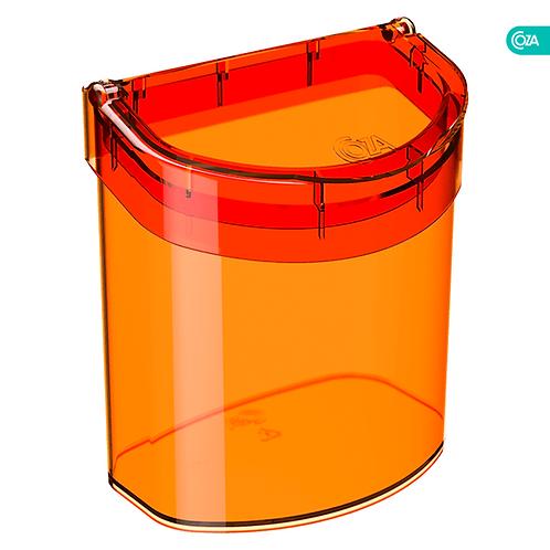 Basurero para Fregadero 2.7Lt Glass Tangerina