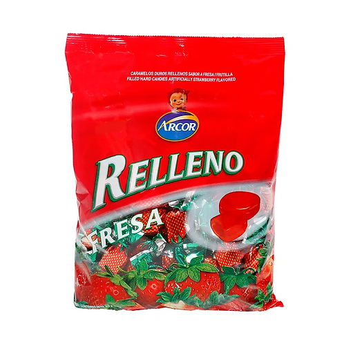 Caramelo strawberry candy 500gr