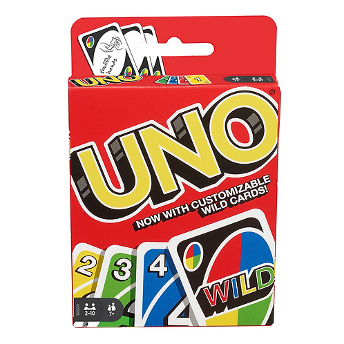 Uno card game DSP intl W2087/W2085