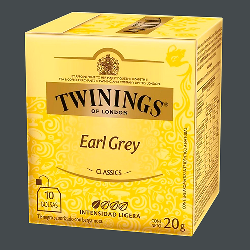 Twinings black tea earl grey