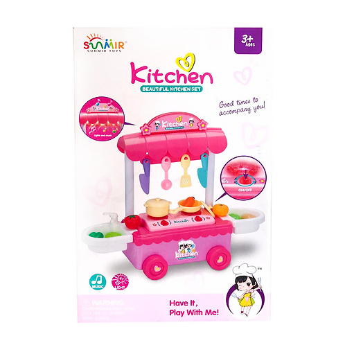 Set de cocina en caja