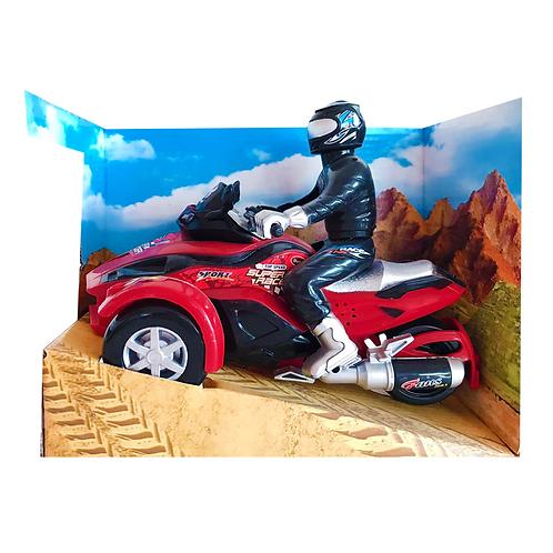 Moto arena plástica