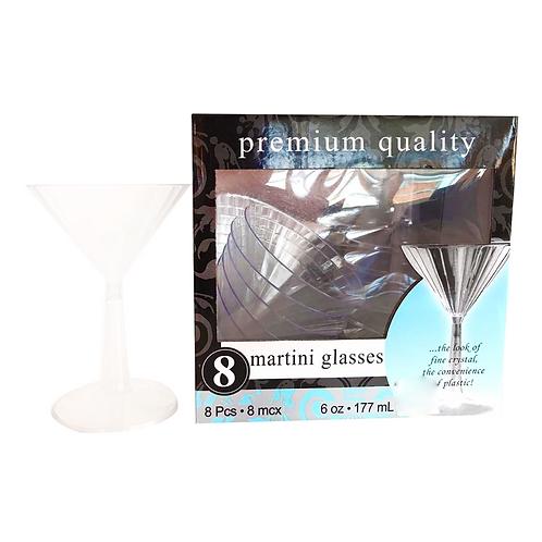 Set 8 copas plásticas-XL36051-16TR