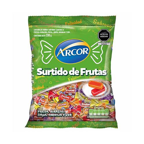 Caramelo surtido frutas 330gr