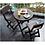 Thumbnail: Combo Plegable (1Mesa + 2 Sillas) Wengue #8733