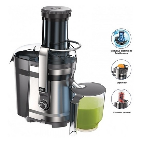 Extractor jugos Oster cromo JE318C