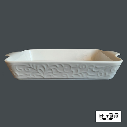 Fuente rectang. c/asas y relieve c/est.