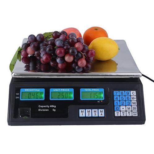 Balanza electrónica de mesa WJ6