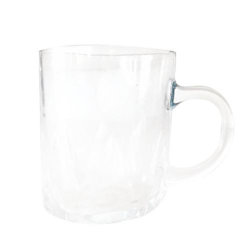 Set de taza de vidrio x6