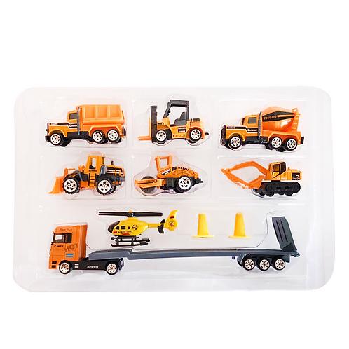 Set de vehículos con accesorios en caja TN-1026J