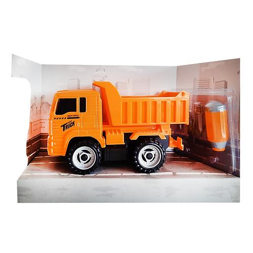 Camión construcción didáctico fricción