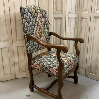 Antique Os Dumotan Fauteuil Chair $695.00