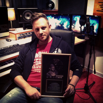 Congradulations to Diveno On His First Gold Record