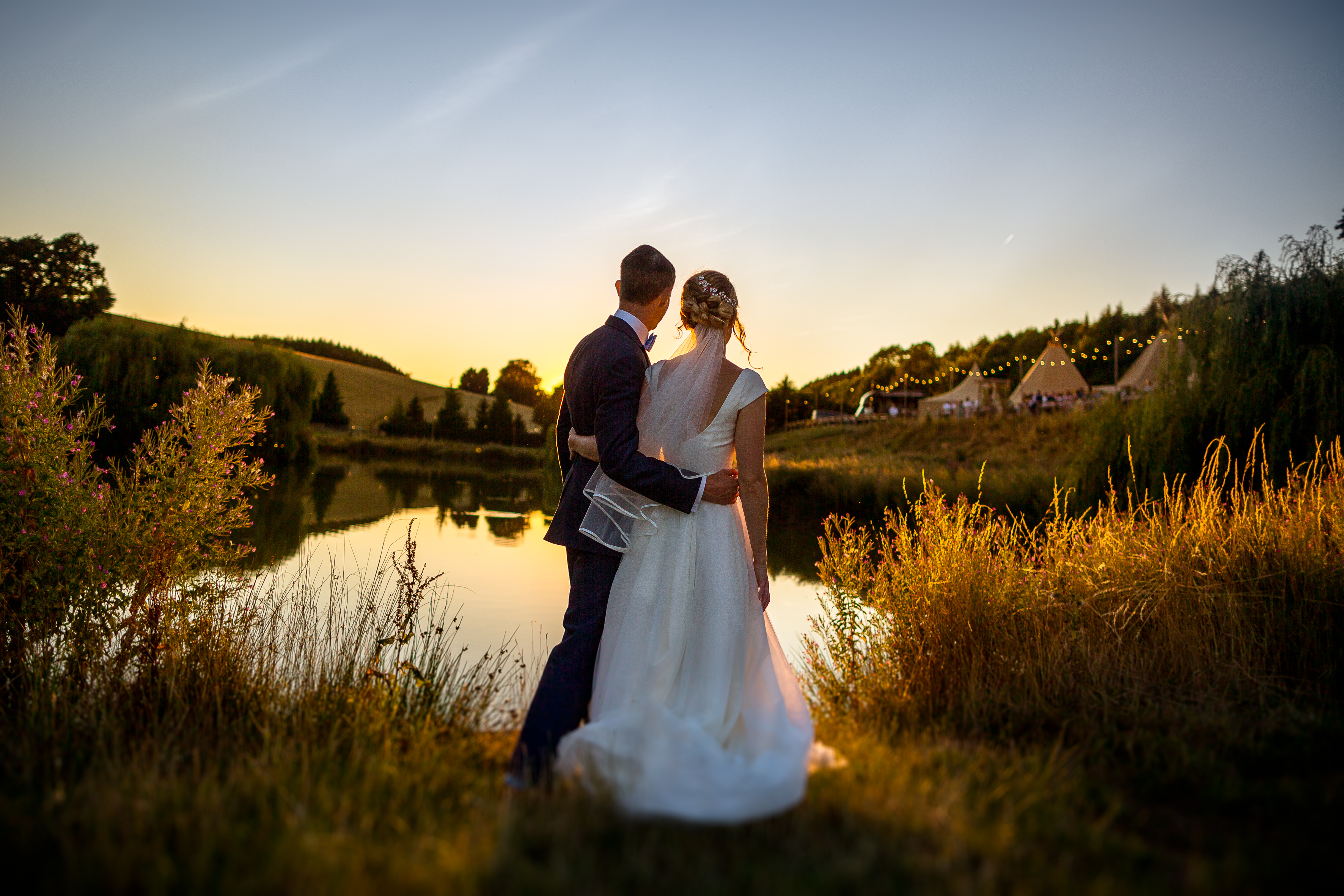 Lakeside Tipi Wedding