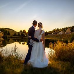 Lakeside wedding photography