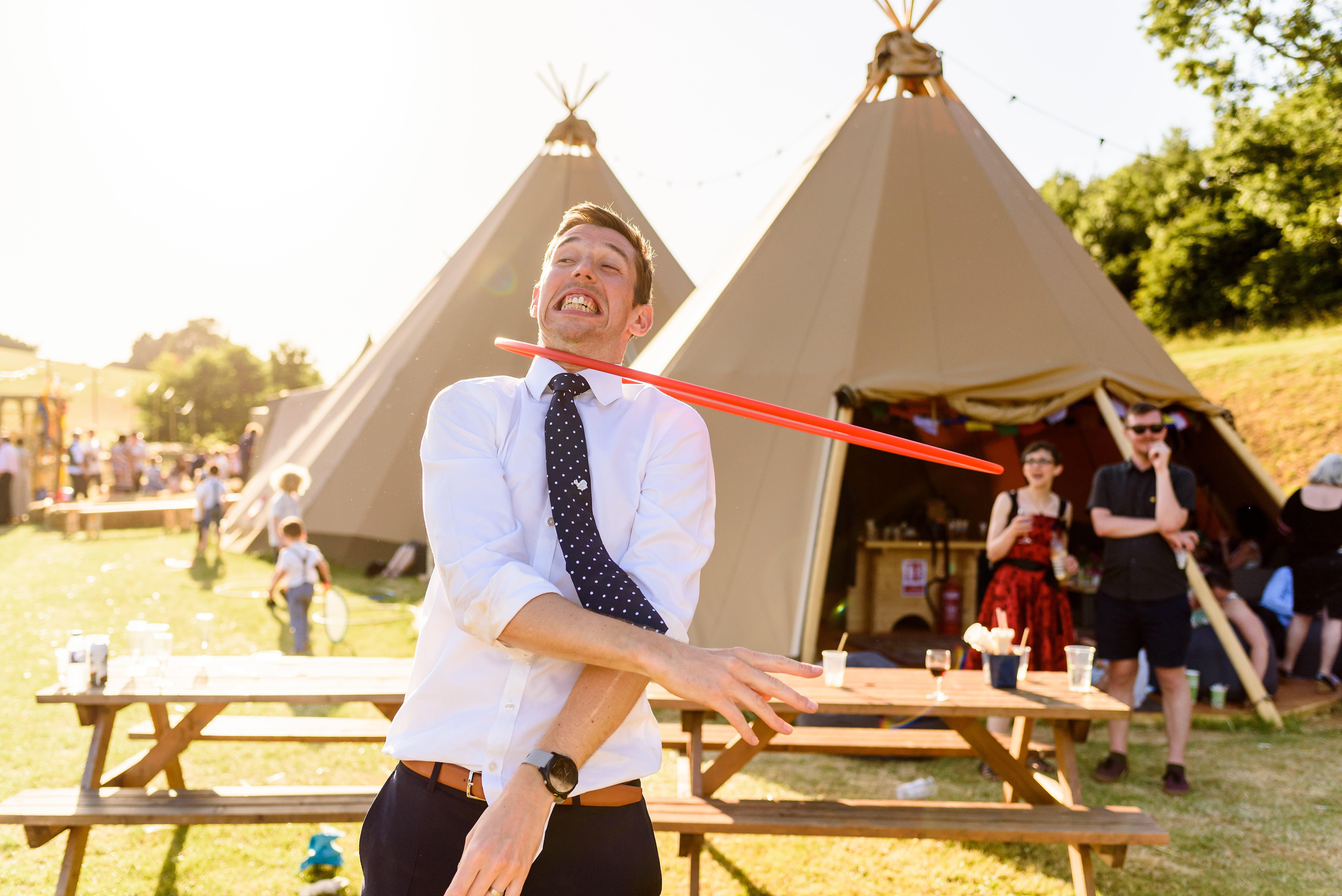 Tipi Wedding Antics