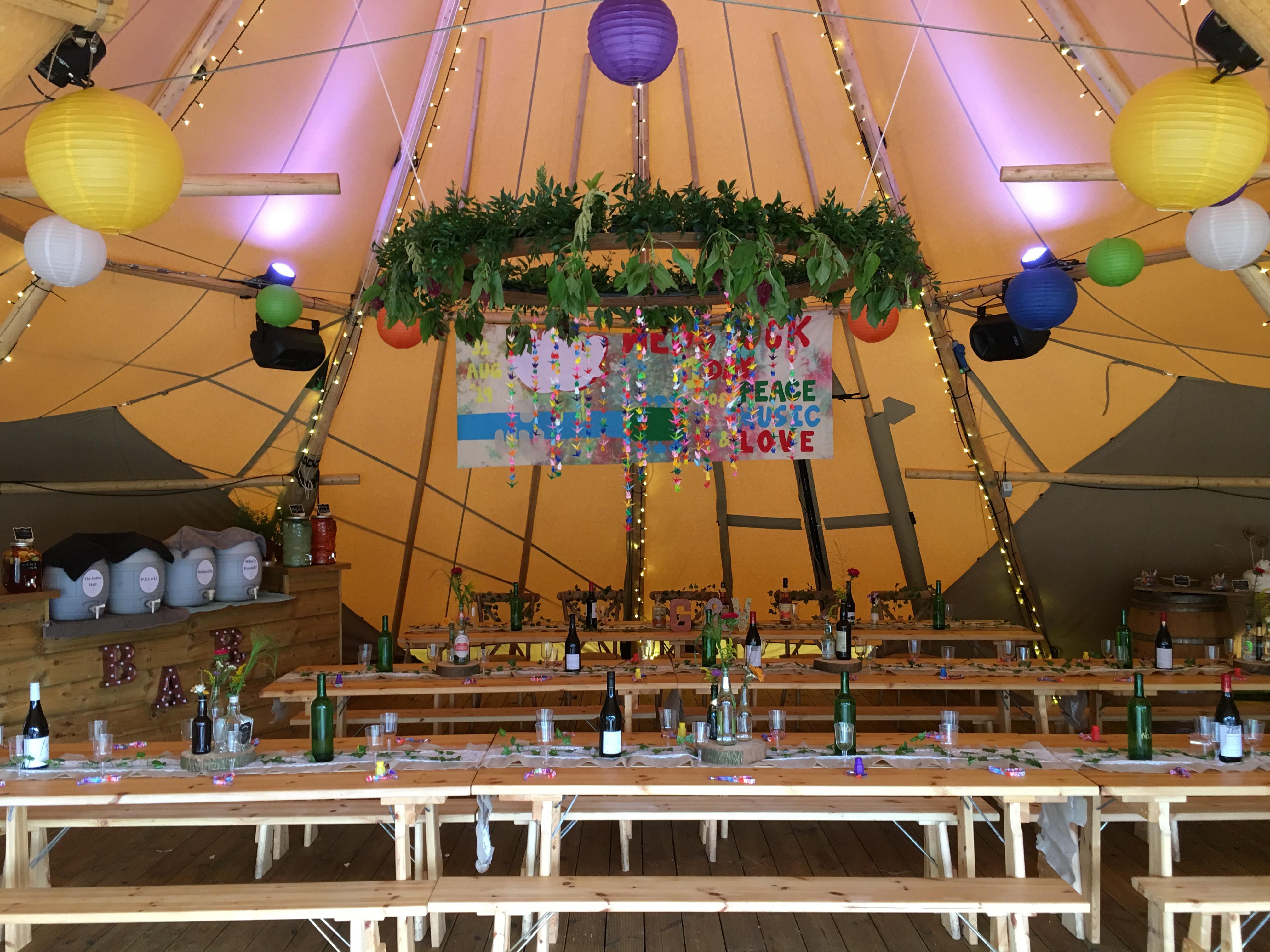 Tipi Wedding Venue