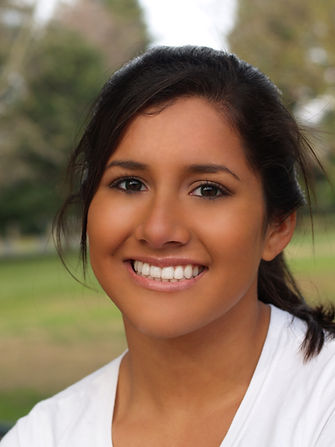 Young Hispanic Teen Girl Smiling Portrai
