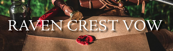 Raven Crest Letter with Wording