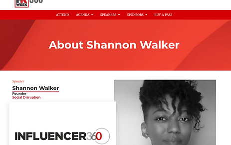 PR Week Influencer 360, SW & SD Profile,