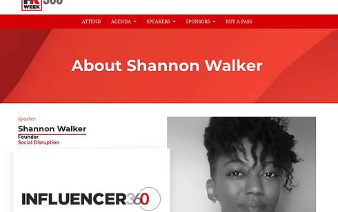 PR Week Influencer 360, SW & SD Profile,