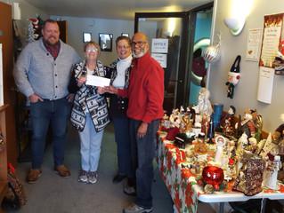 Cayuga Food Bank Donation