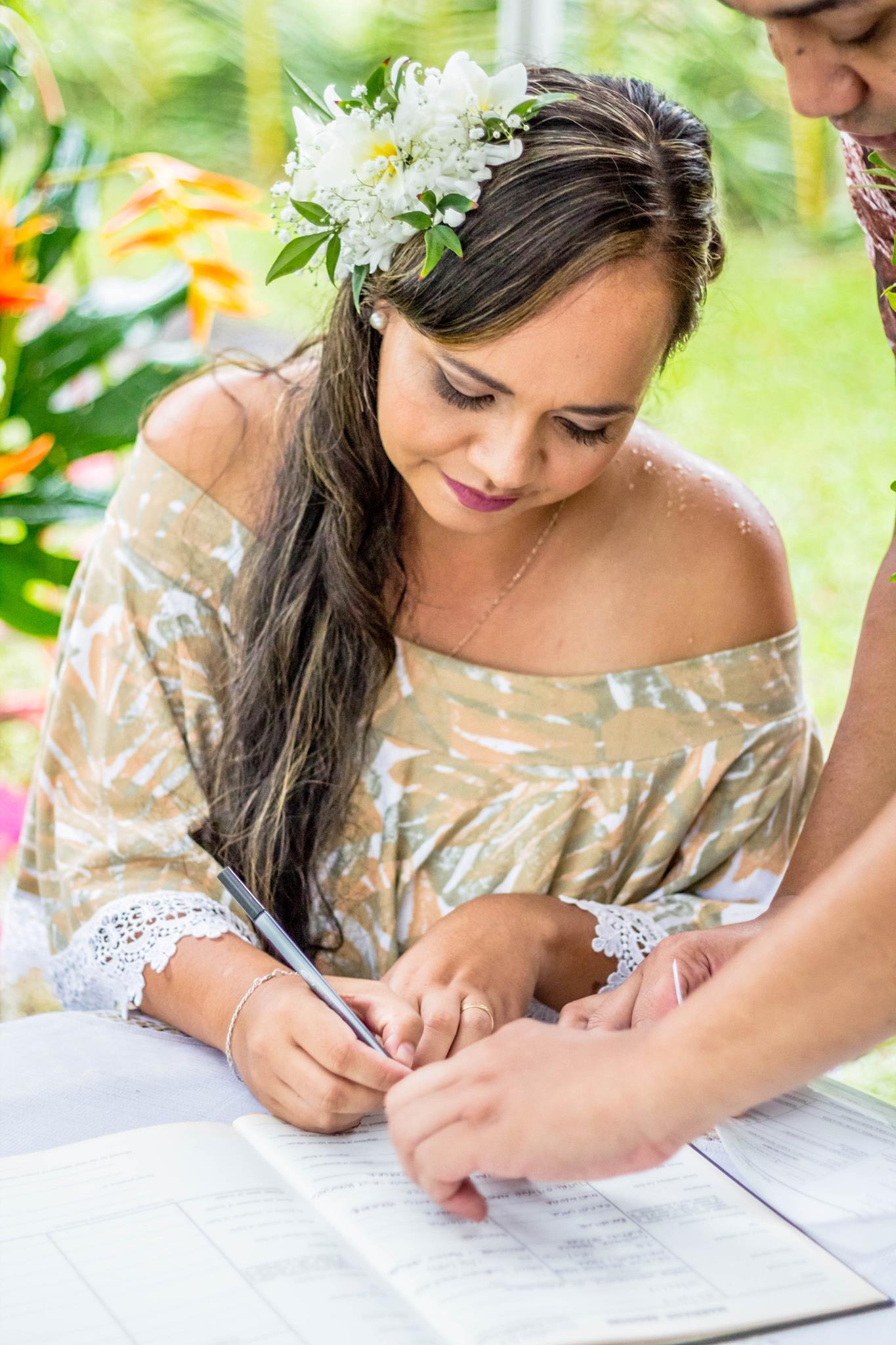 Brides - Rarotonga