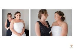 Bride Bridesmaid Hair Make up