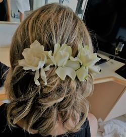 Bride Hair styling