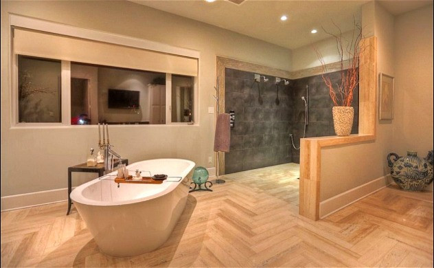 Engineered Flooring In Bathroom