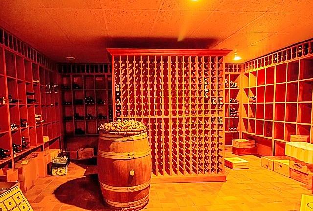 Cellar in The Basement