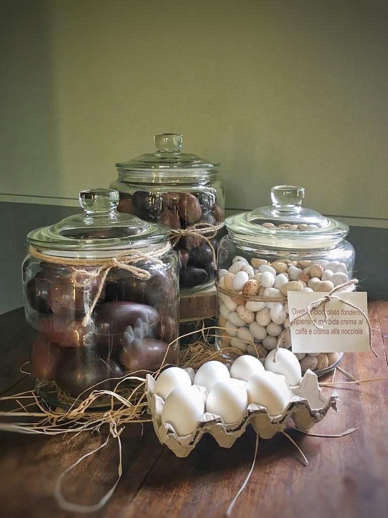 Ovetti al cioccolato