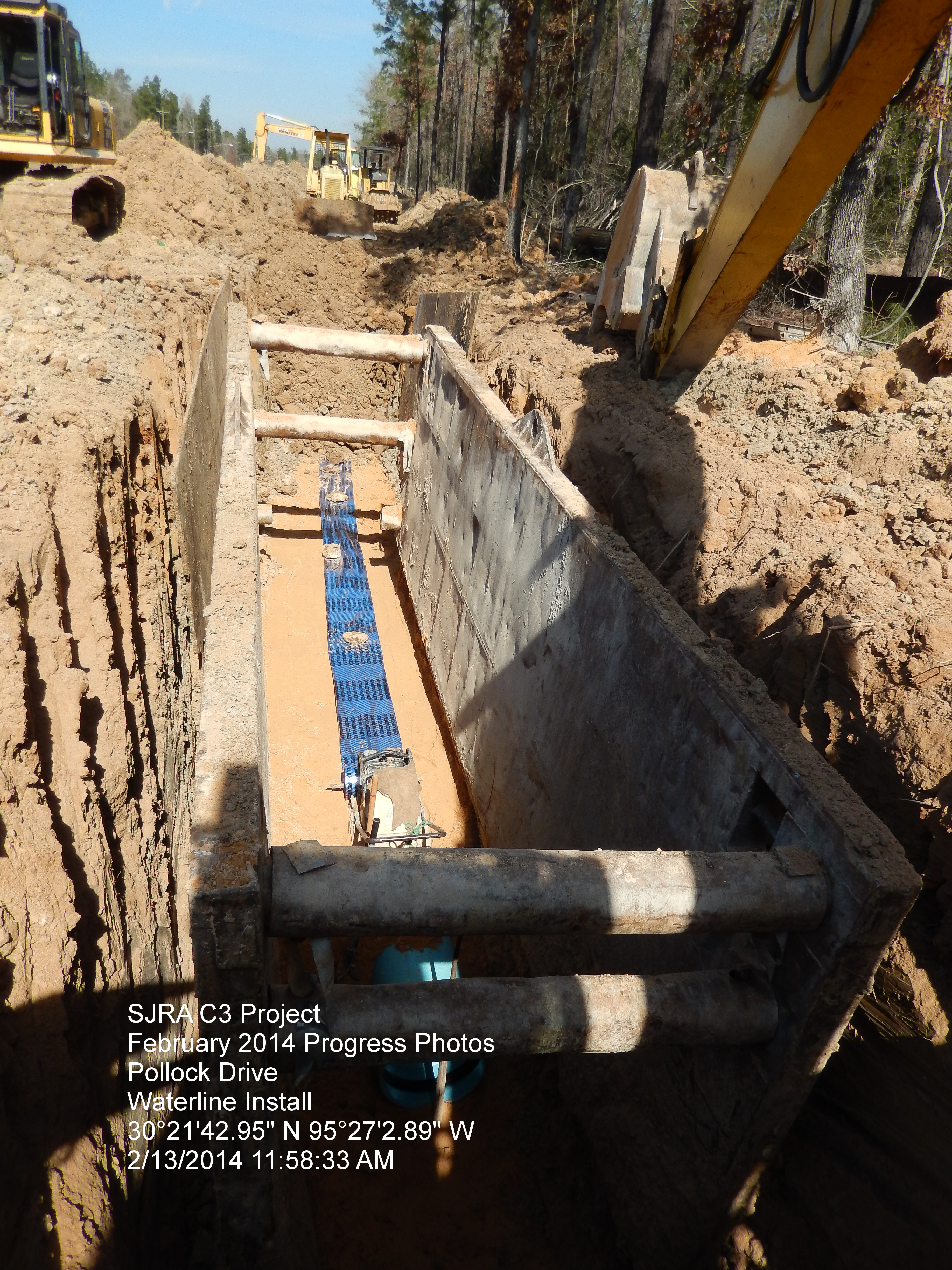 Pipe Installed