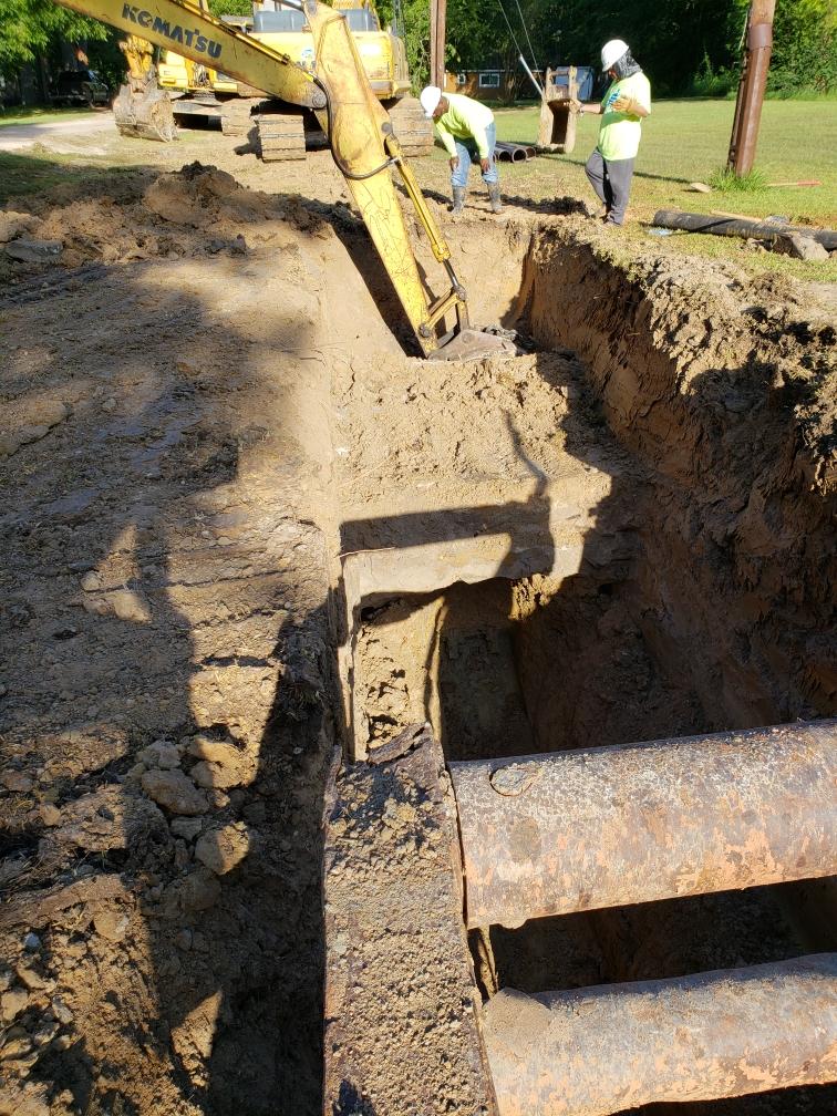 Sanitary Sewer Installation