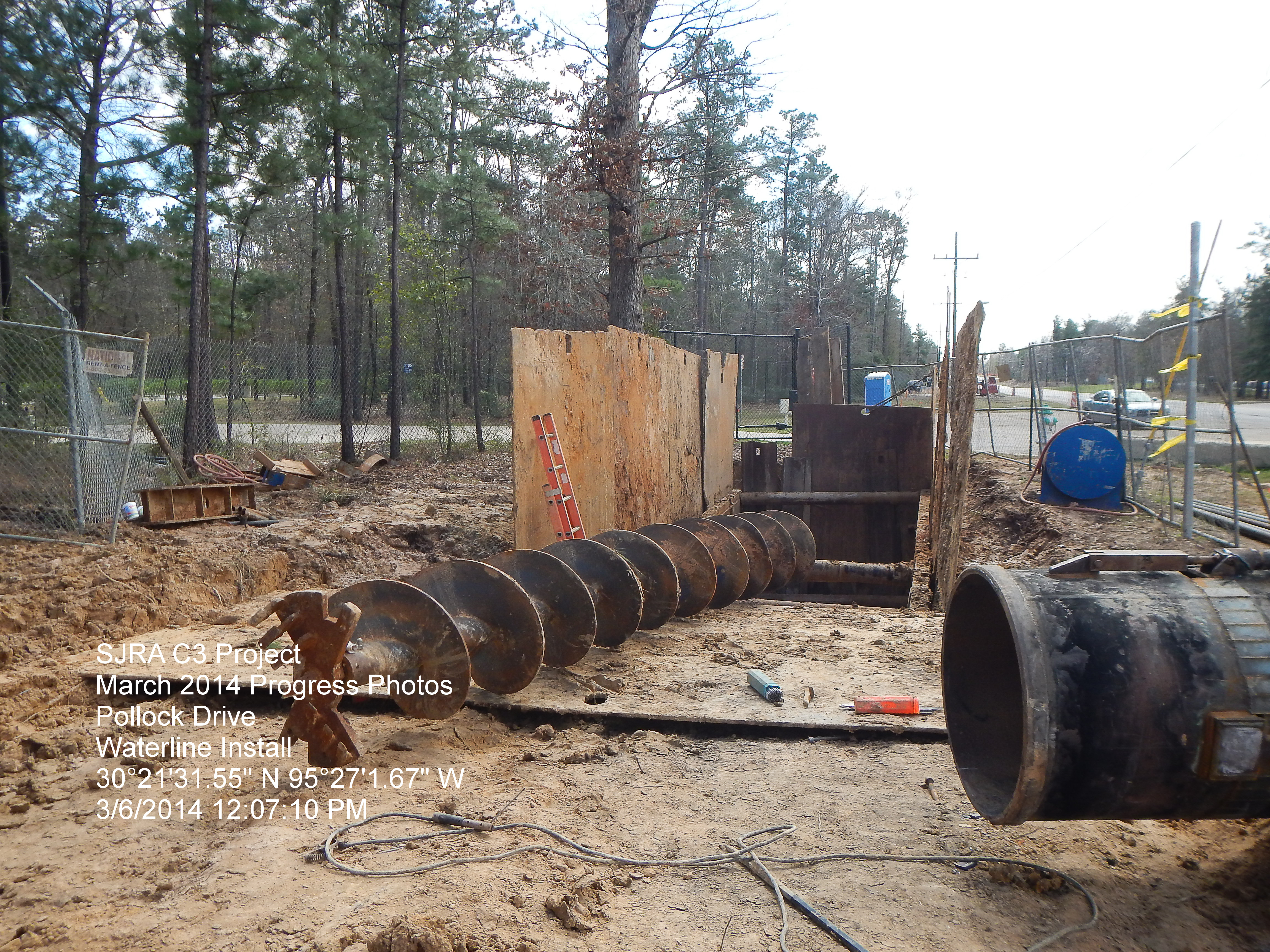 Auger Removal