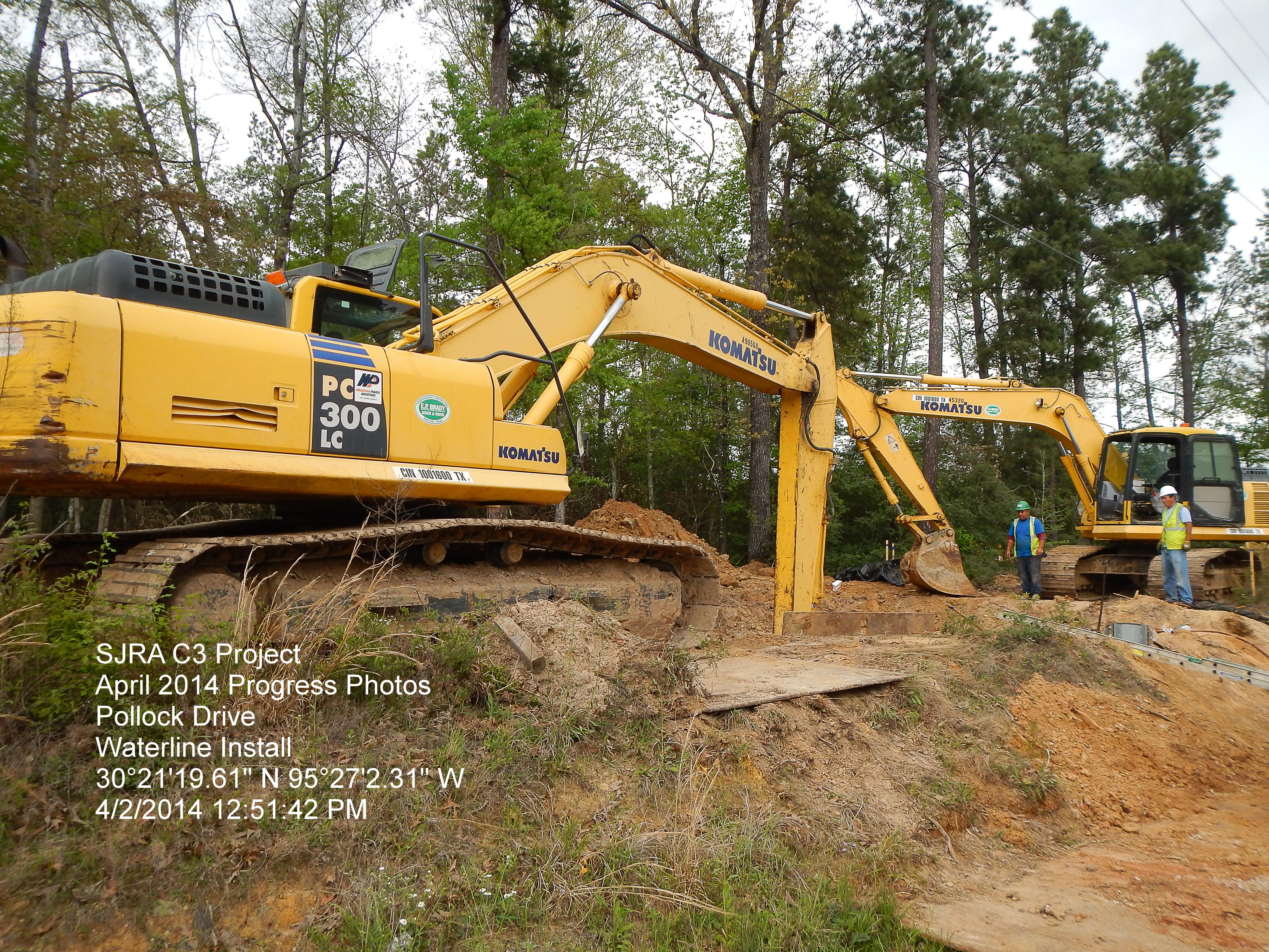 More Excavators