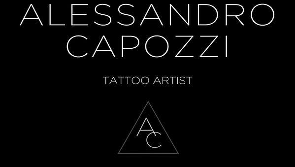 Alessandro capozzi tattoo artist