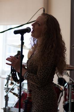 Tina Singing Live