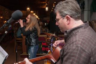 Performing at John Strongbows