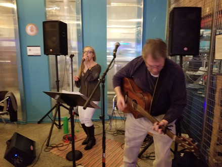 2 from the Heart performs at Falls Church Distillers