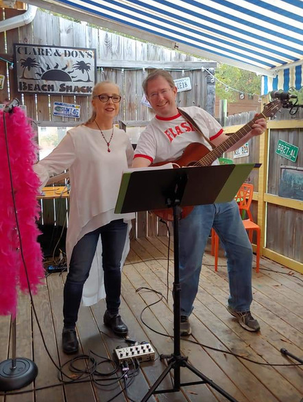 2 from the Heart performs at Clare and Don's Beach Shack