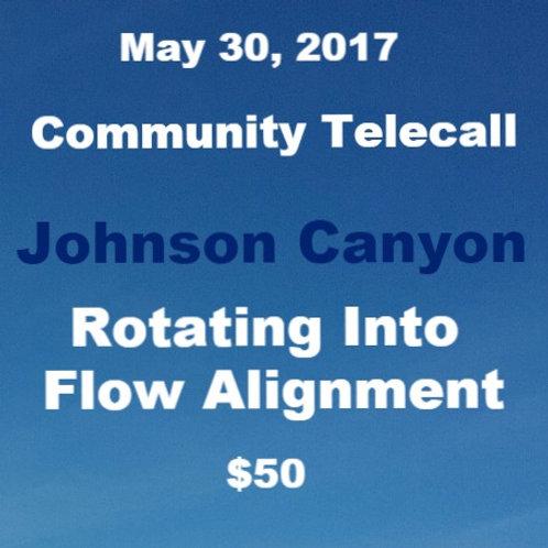 5.30.17 Community Telecall Johnson Canyon