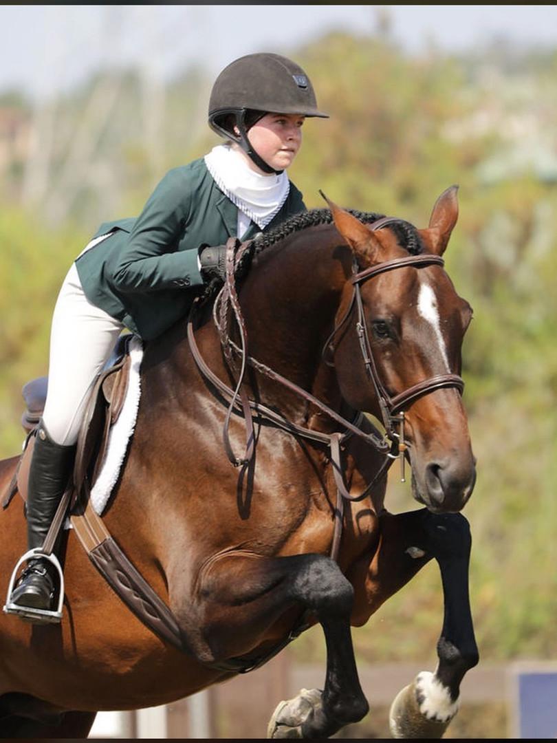junior equitation rider