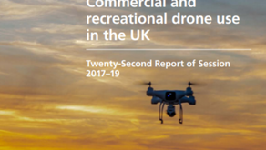GOVERNMENT MUST GET 'AHEAD OF THE CURVE' TO ENSURE DRONES ARE SAFELY INTEGRATED INTO SOCIETY