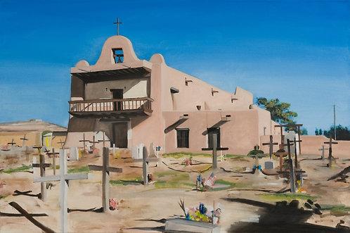 San Ildefonso Pueblo Mission Church